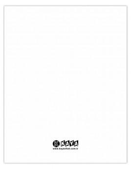 Avukat Büro Dosyası - Beyaz Büyük Boy 1. Kalite 50'lik Paket