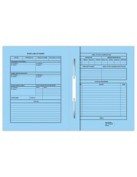 Büyük Büro Dosyası - Mavi 50'LİK PAKET