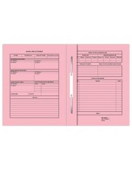 Büyük Büro Dosyası - Pembe 50'LİK PAKET