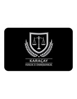 KABARTMA LAKLI KALIN KARTVİZİT - KARAÇAY HUKUK